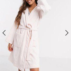 Ralph Lauren White plush robe